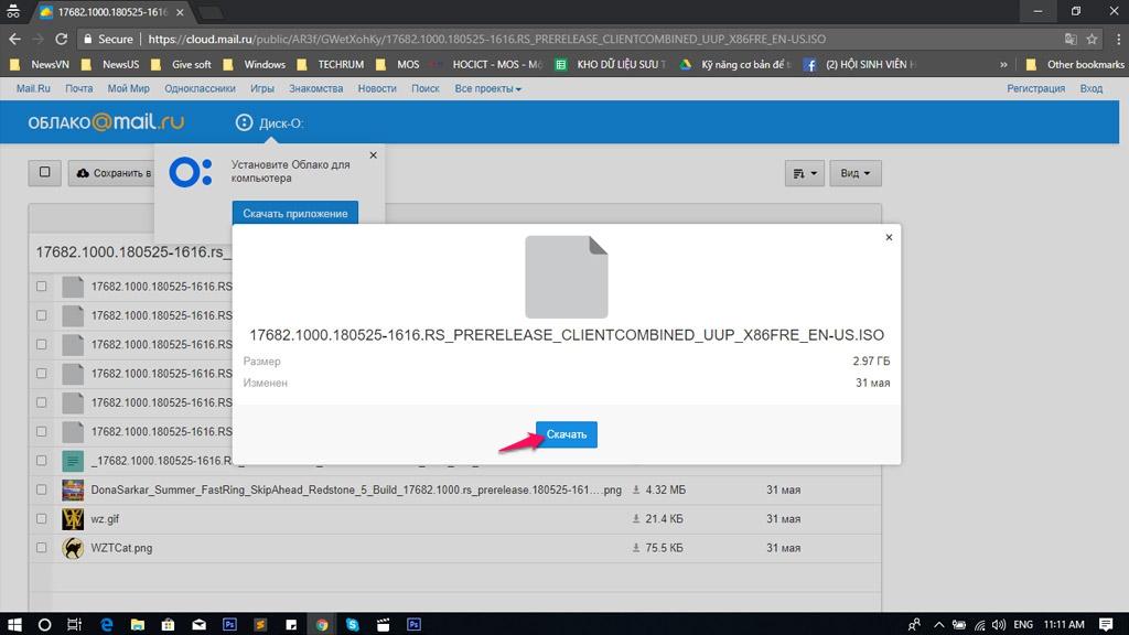 Chia sẻ file ISO Windows 10 Build 17682: Phiên bản cải tiến dành cho người dùng Insider