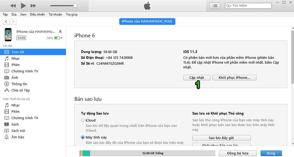 Hướng dẫn cập nhật phiên bản iOS mới với iTunes và 3uTools