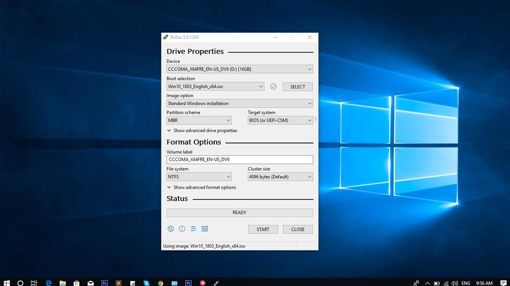 Hướng dẫn tạo USB cài Windows trên hai chuẩn GPT và MBR với Rufus phiên bản mới