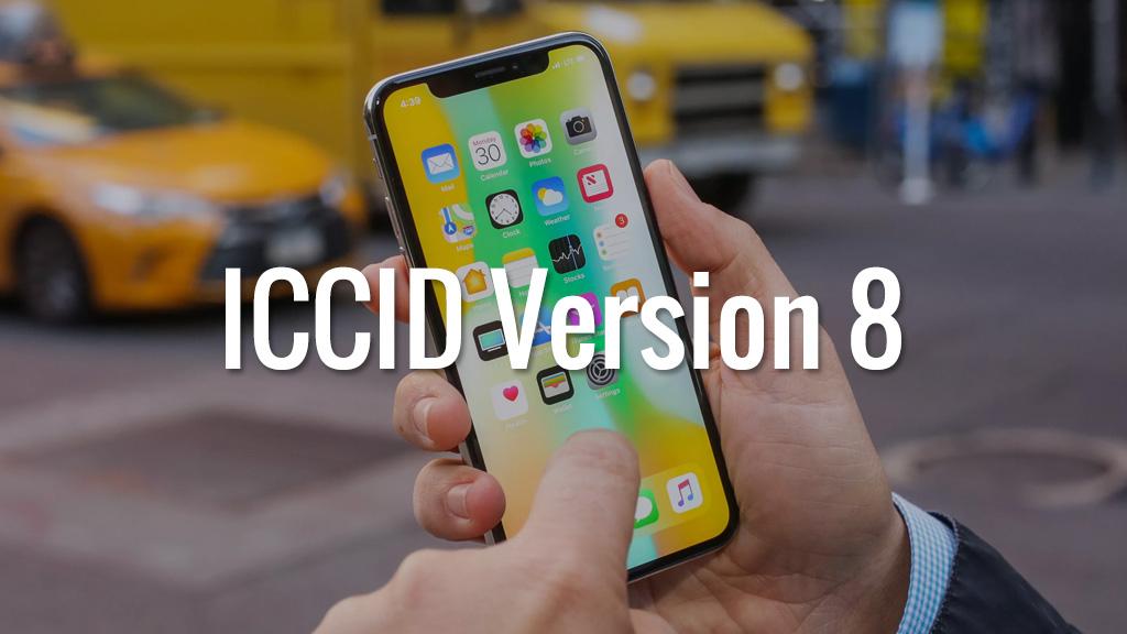 Tin vui cho anh em dùng iPhone Lock: Đã có ICCID Version 8 dành cho SIM ghép thần thánh