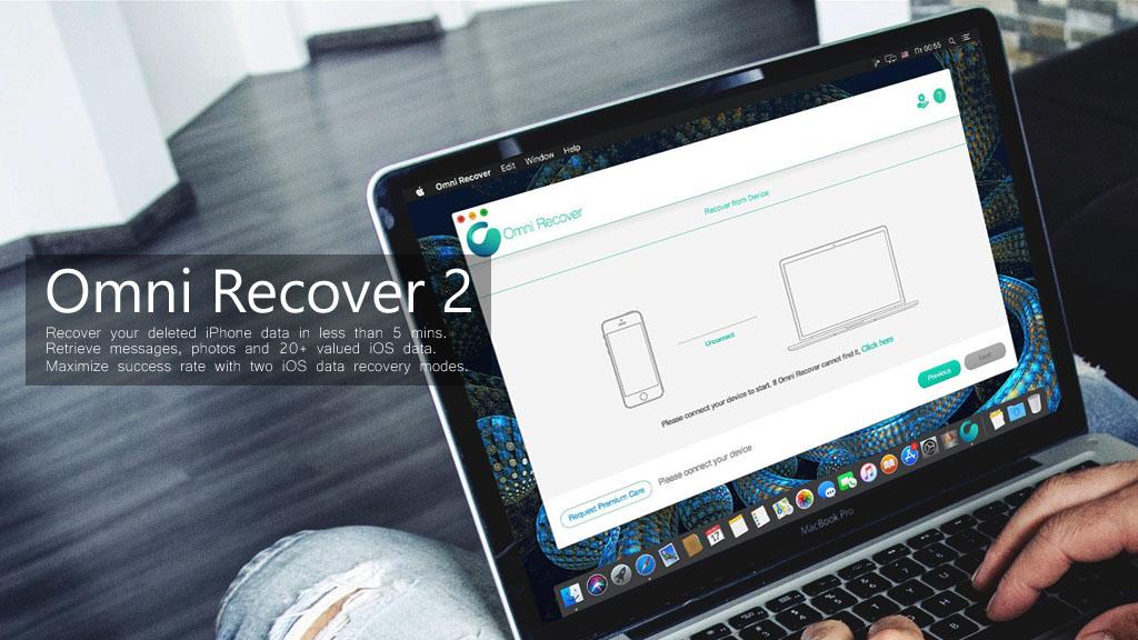 Miễn phí bản quyền Omni Recover 2, phần mềm hỗ trợ khôi phục dữ liệu dành cho iPhone