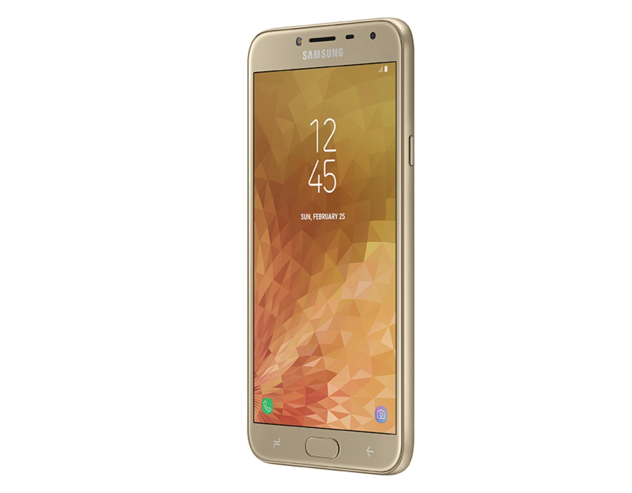 Samsung giới thiệu Galaxy J4 tại Việt Nam với màn hình 5.5 inch, camera chụp tối hiệu quả