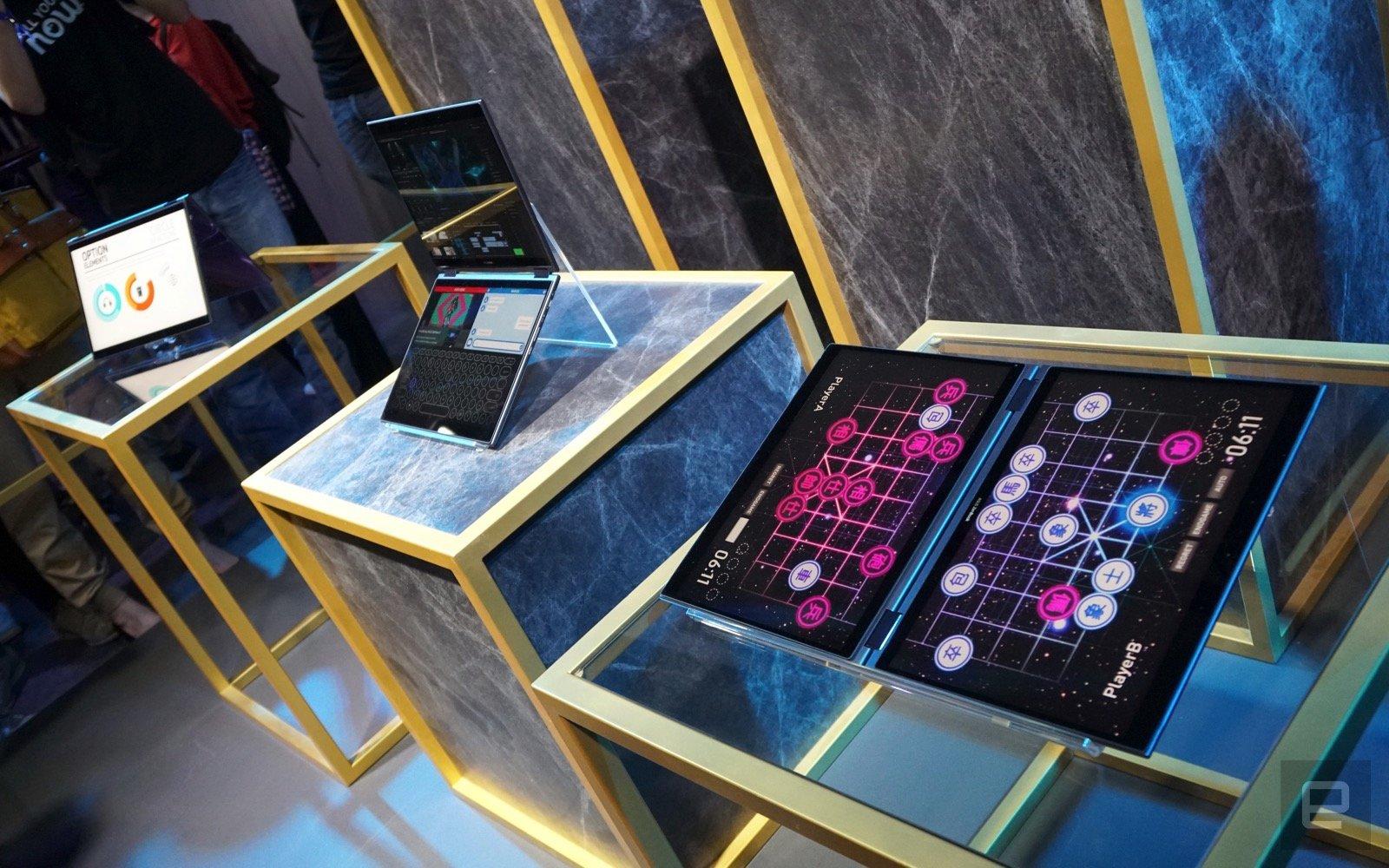 [Computex 2018] ASUS giới thiệu Project Precog: laptop hai màn hình, không bàn phím, tích hợp AI