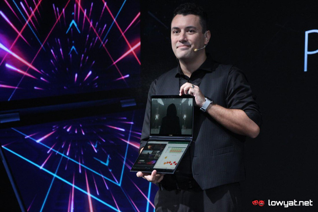 Computex, Computex 2018, Asus, Laptop Asus, Project Precog,