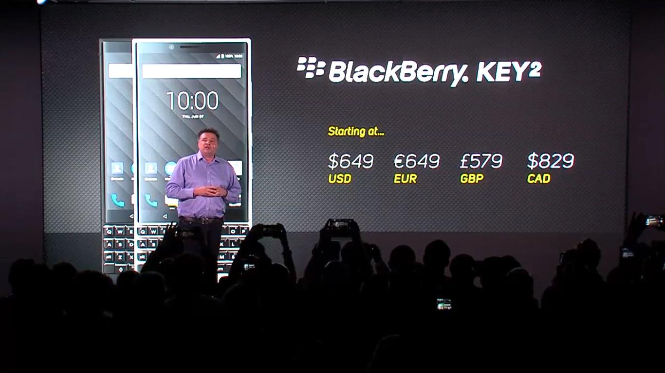 BlackBerry KEY2 chính thức ra mắt: Bàn phím QWERTY, Snapdragon 660, 6GB RAM, camera kép, giá 15 triệu