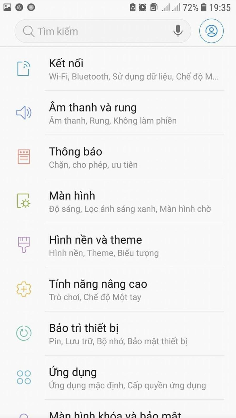 Samsung Galaxy S7/S7 edge Việt Nam đã nhận bản cập nhật Android 8.0 Oreo