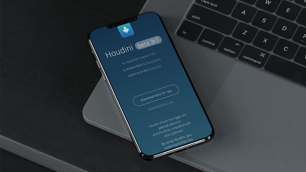Đã có thể cài đặt Houdini Semi-Jailbreak trên iOS 11.3.1 không cần tài khoản lập trình viên
