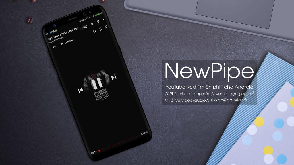 tenovi net - NewPipe: Phiên bản YouTube Red miễn phí dành