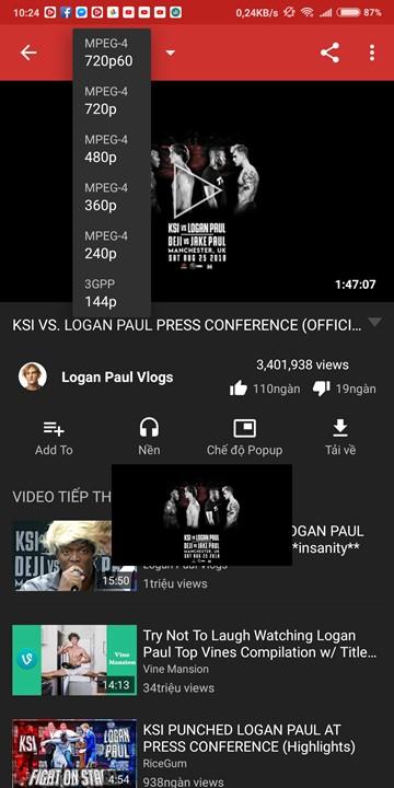 NewPipe: Phiên bản YouTube Red miễn phí dành cho smartphone Android
