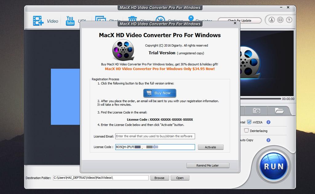 Mời tải miễn phí MacX Video Converter Pro, phần mềm chuyển đổi video trị giá 59.95 USD