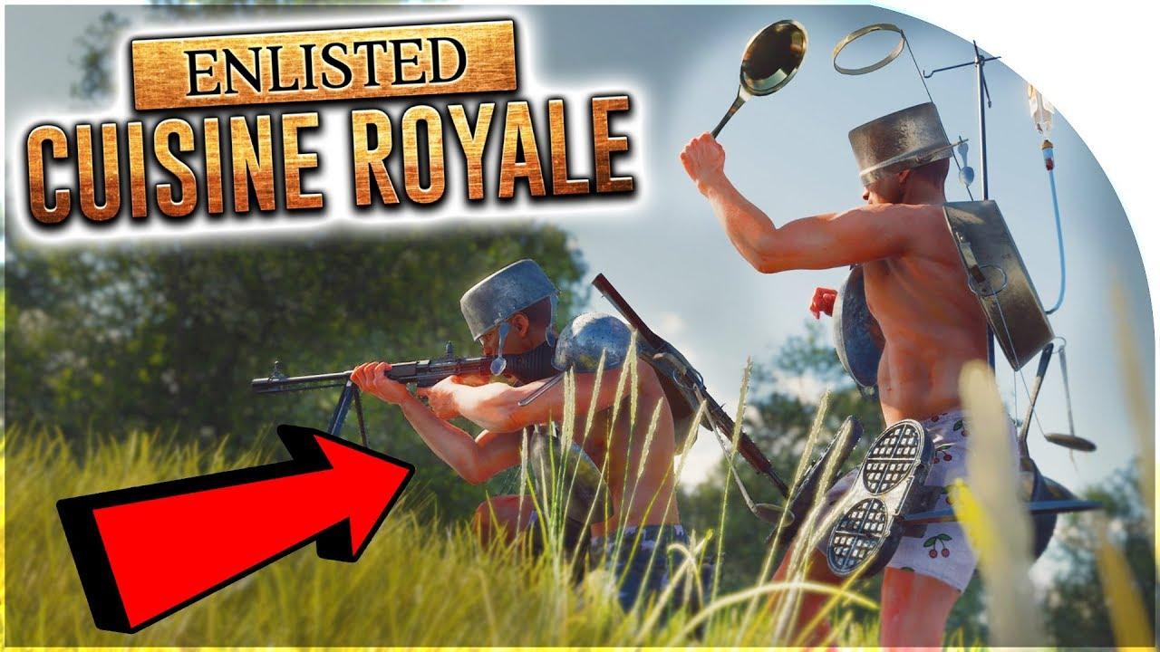 Cuisine Royale: Tựa game mang phong cách PUBG đang miễn phí trong thời gian ngắn, anh em tải ngay nhé!