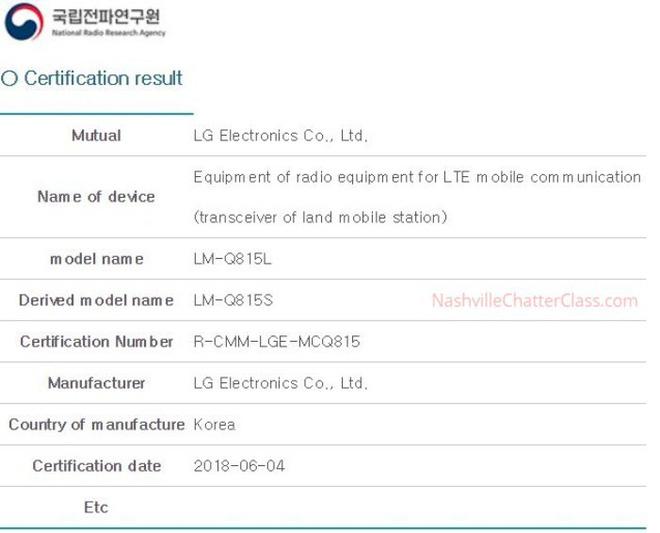 LG Q8+ được cơ quan quản lý phê duyệt, sẽ ra mắt dưới dạng phiên bản giá rẻ của V30