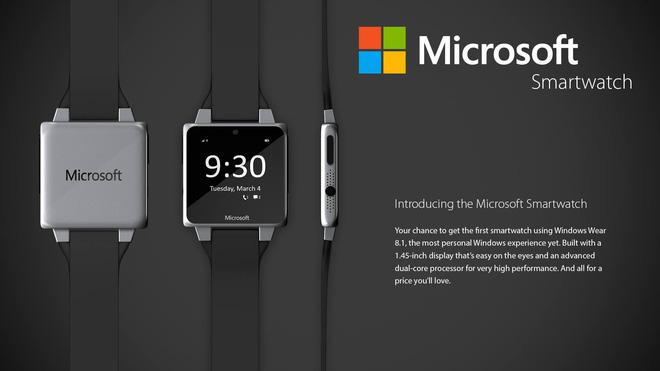 Ba lý do để tin rằng Microsoft vẫn đang phát triển smartwatch