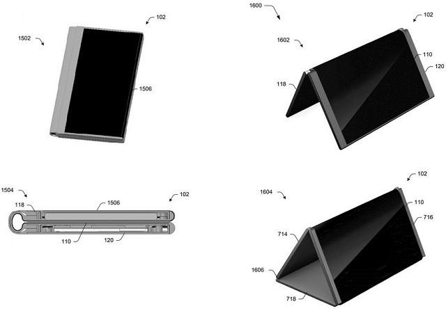 Surface Phone của Microsoft có khả năng biến hình với 5 tư thế khác nhau