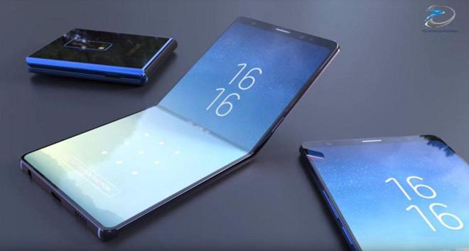 Chiếc điện thoại màn hình gập của Samsung sẽ gập một cách khác thường?