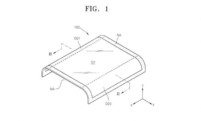 Samsung đăng ký bằng sáng chế cho công nghệ màn hình cong tràn mới, có thể được dùng cho điều khiển smart TV