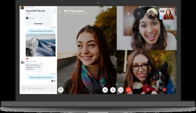 Microsoft ra mắt Skype 8.0: Hỗ trợ video HD, chia sẻ màn hình khi gọi điện, mã hóa cuộc gọi và tin nhắn