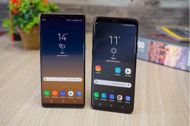 Samsung có thể hợp nhất dòng Galaxy S và Galaxy Note, đặt mục tiêu khiêm tốn cho Note9