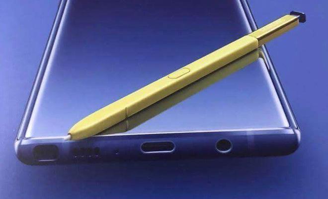 Bút S-Pen trên Samsung Galaxy Note 9 sẽ được tích hợp bluetooth, điều khiển từ xa cách 18m, sạc trong 40 giây