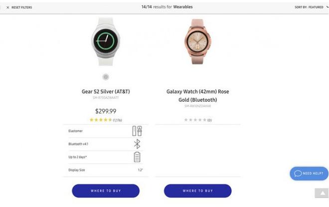 Samsung vô tình để lộ hình ảnh đầu tiên của chiếc đồng hồ Galaxy Watch