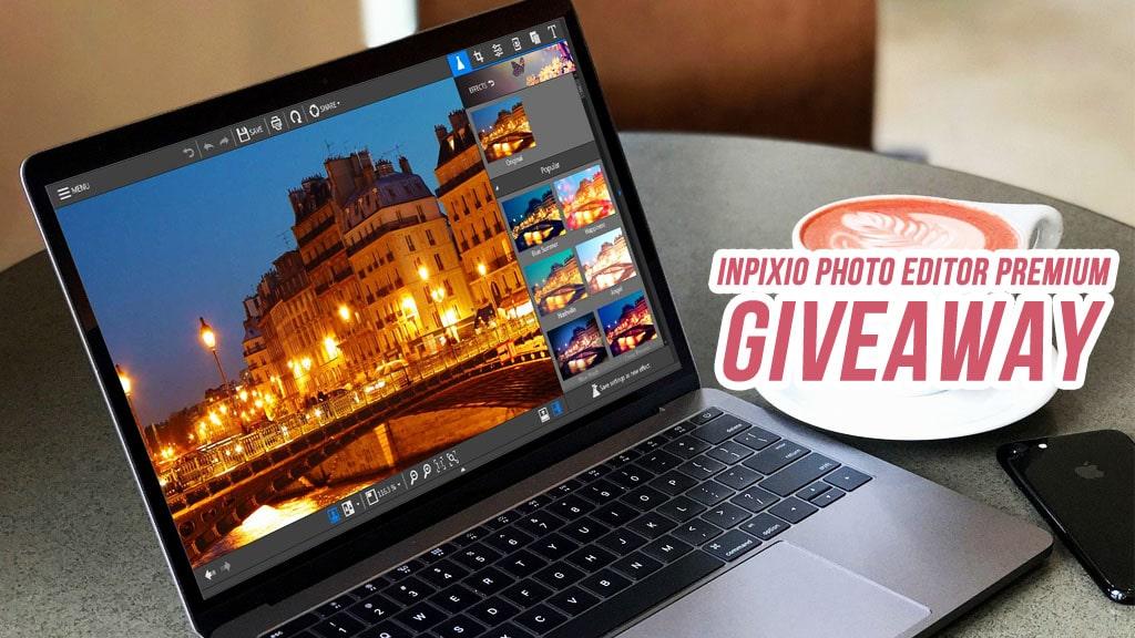 Nhanh tay nhận miễn phí bản quyền phần mềm chỉnh sửa ảnh InPixio Photo Editor Premium trị giá 39.99 USD