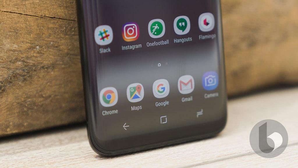 Samsung đã có giải pháp dành cho những ai không thích phím ảo bên trong màn hình