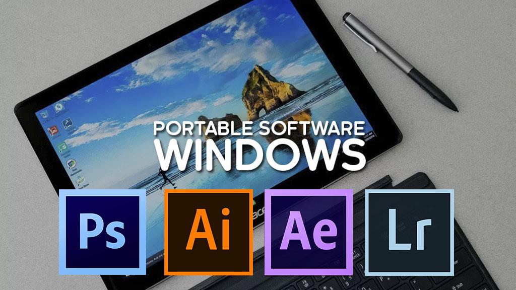 Chia sẻ bộ phần mềm thiết kế Adobe CS6 Portable cực nhẹ và đầy đủ chức năng, mời bạn đọc tải về