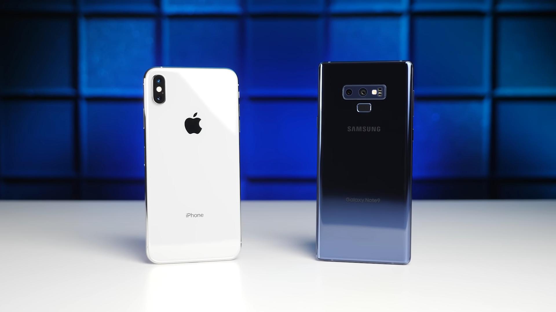So sánh thời lượng pin iPhone XS Max với Galaxy Note 9: Liệu iPhone XS Max có chiến thắng được viên pin 4000mAh trên Note 9