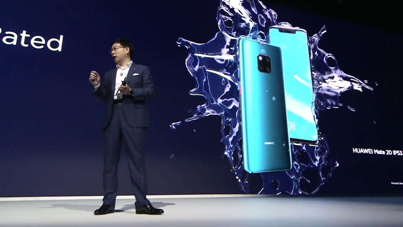 Huawei ra mắt Mate 20 Pro với Kirin 980, 3 camera, có thể sạc không dây ngược cho các thiết bị khác
