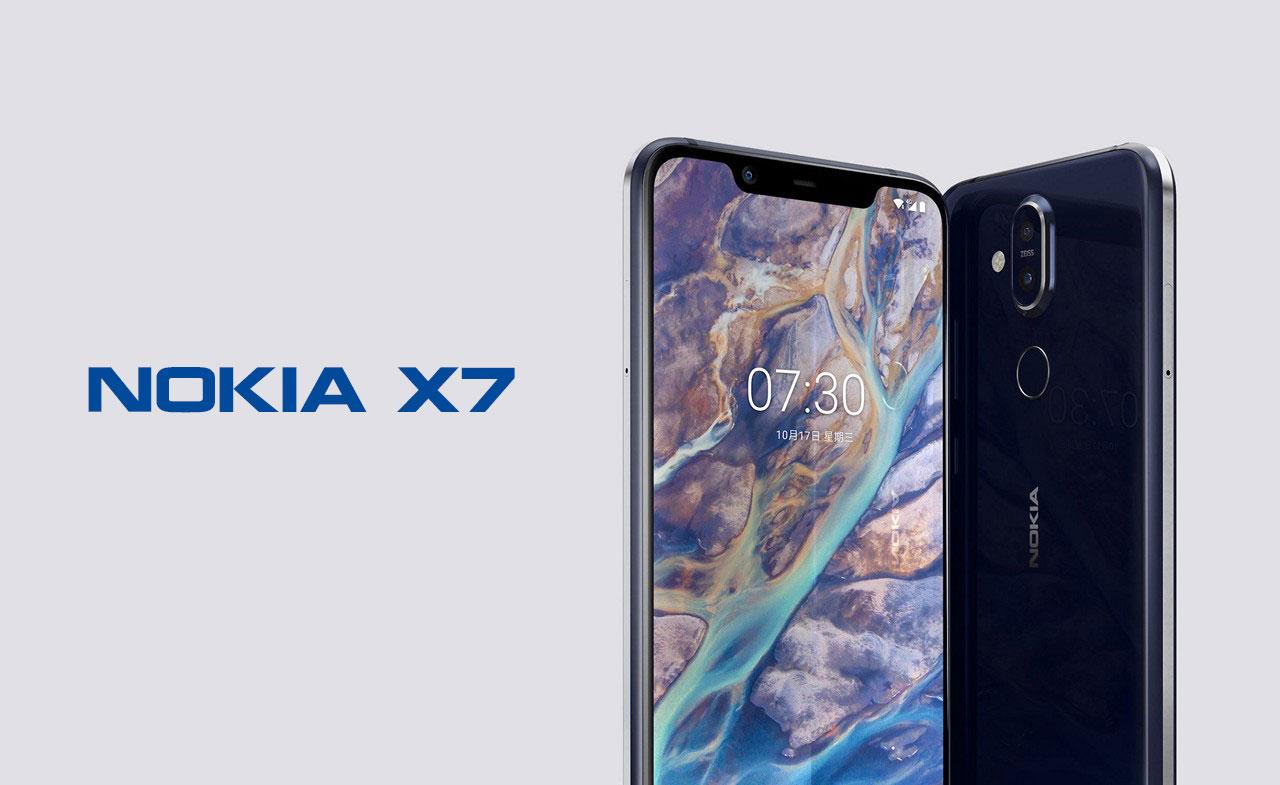 HMD Global chính thức trình làng Nokia X7 với Snapdragon 710, màn hình 6,18inch Pure Display, camera kép, giá từ 5.7 triệu đồng