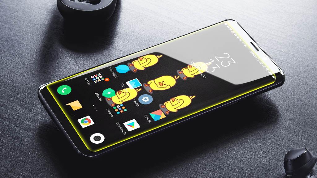 Hướng dẫn cài đặt ảnh nền bằng video với hiệu ứng ánh sáng cực chất trên điện thoại Android