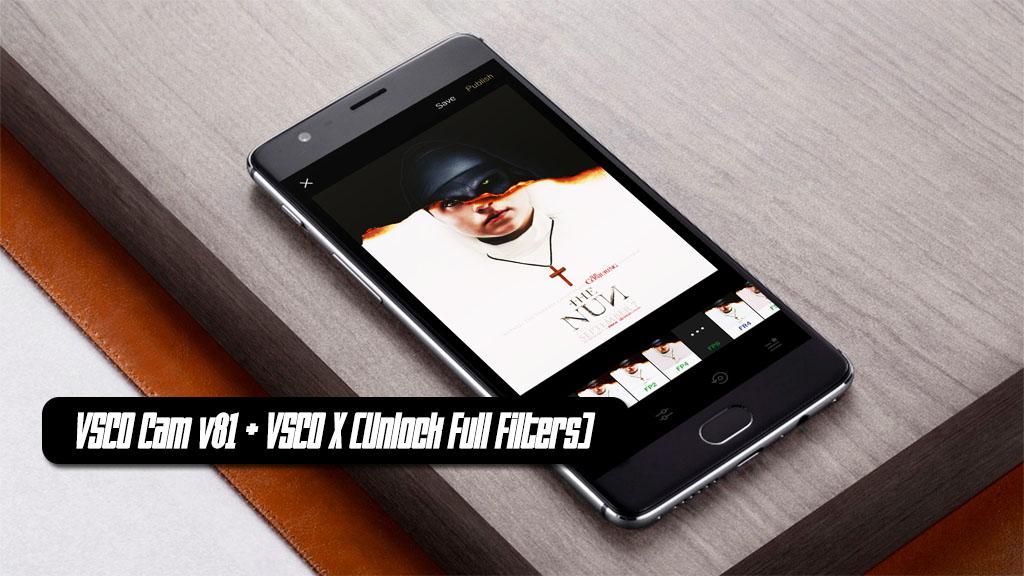 Chia sẻ bản mod VSCO Cam v81 kèm VSCO X (Unlock Full Filters), mời anh em tải về