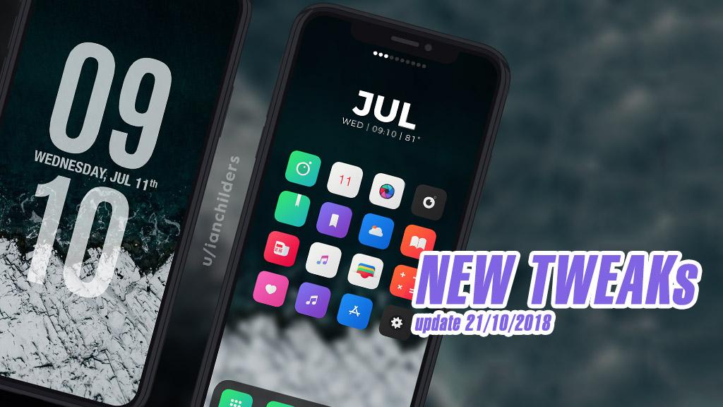 [22/10/2018] Tổng hợp một số tweak mới phát hành trong thời gian gần đây, dành cho thiết bị iOS đã jailbreak