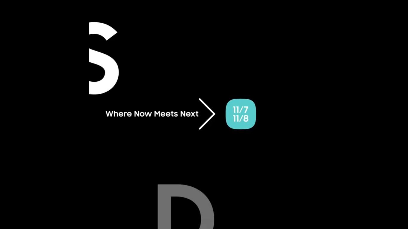 Samsung tiết lộ chiếc smartphone màn hình gập, ra mắt vào ngày 7 tháng 11