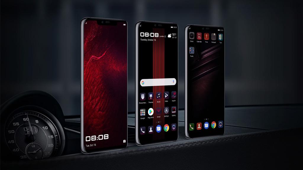 Chia sẻ bộ ảnh nền mặc định trên Huawei Mate 20 RS Porsche, RAZER Phone 2, Galaxy A9 2018... Mời anh em tải về