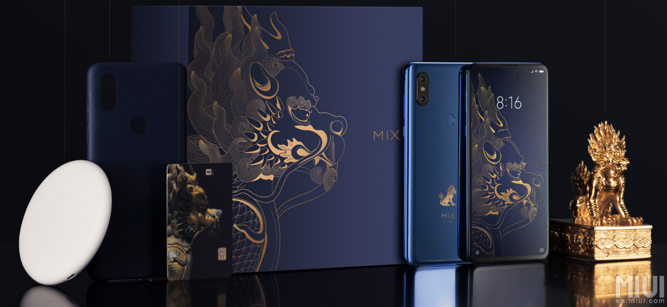 Chia sẻ trọn bộ ảnh nền của Xiaomi MI MIX 3, mời anh em tải về