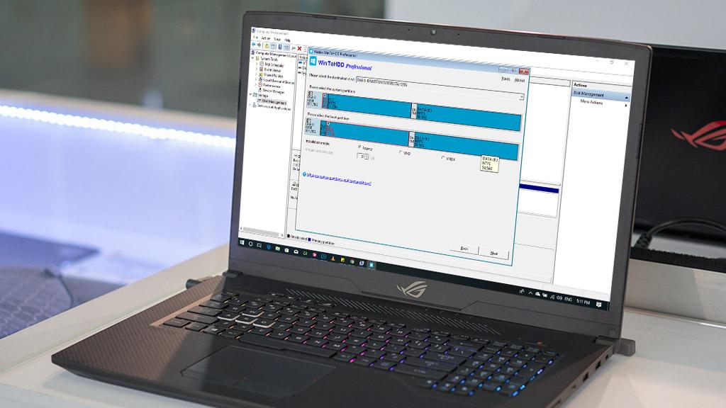 WinToHDD Professional: Phần mềm cài Windows đơn giản không cần USB hay DVD đang mễn phí bản quyền trị giá 29,95 USD