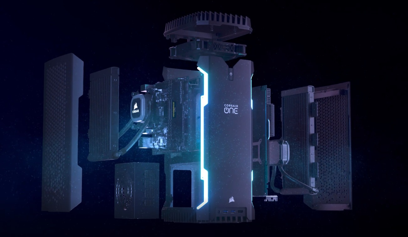 [CES 2019] Corsair ra mắt One Pro i180 Compact Workstation PC với chip Core i9, GeForce RTX, giá 84 triệu đồng