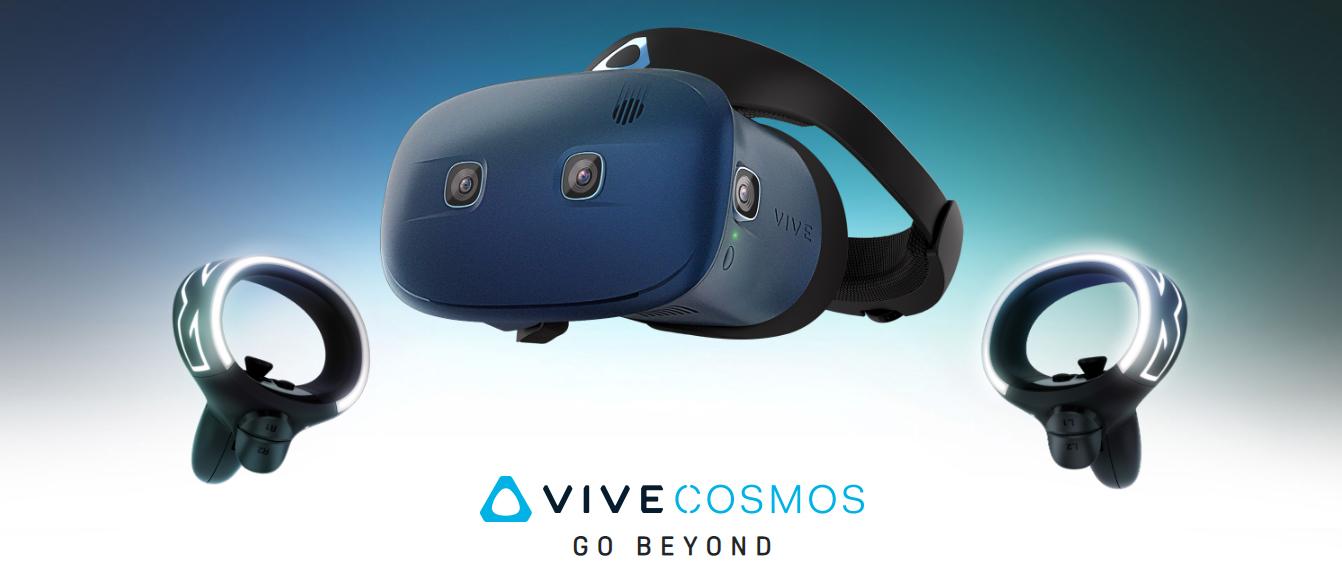 [CES 2019] HTC ra mắt kính thực tế ảo Vive Cosmos, thiết kế thoải mái, dễ dàng thiết lập