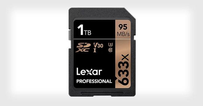 Lexar công bố thẻ nhớ SDXC có dung lượng 1TB đầu tiên trên Thế giới