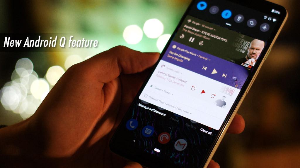 Các tính năng rò rỉ của Android Q: Quay màn hình, Phím tắt khẩn cấp, Nhận diện khuôn mặt 3D v.v...