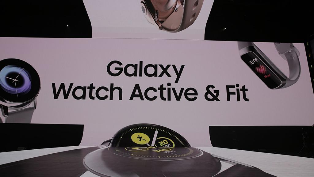 Samsung chính thức ra mắt Galaxy Watch Active và Galaxy Fit tại sự kiện Unpacked