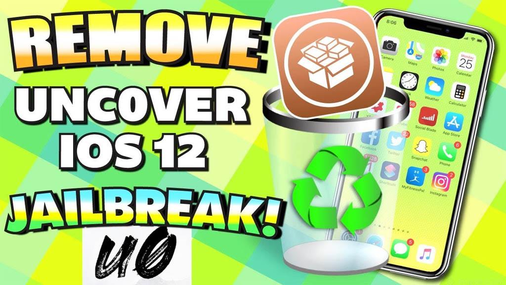 Hướng dẫn khôi phục hệ thống tập tin gốc và gỡ bỏ trạng thái jailbreak iOS 12 bằng unc0ver