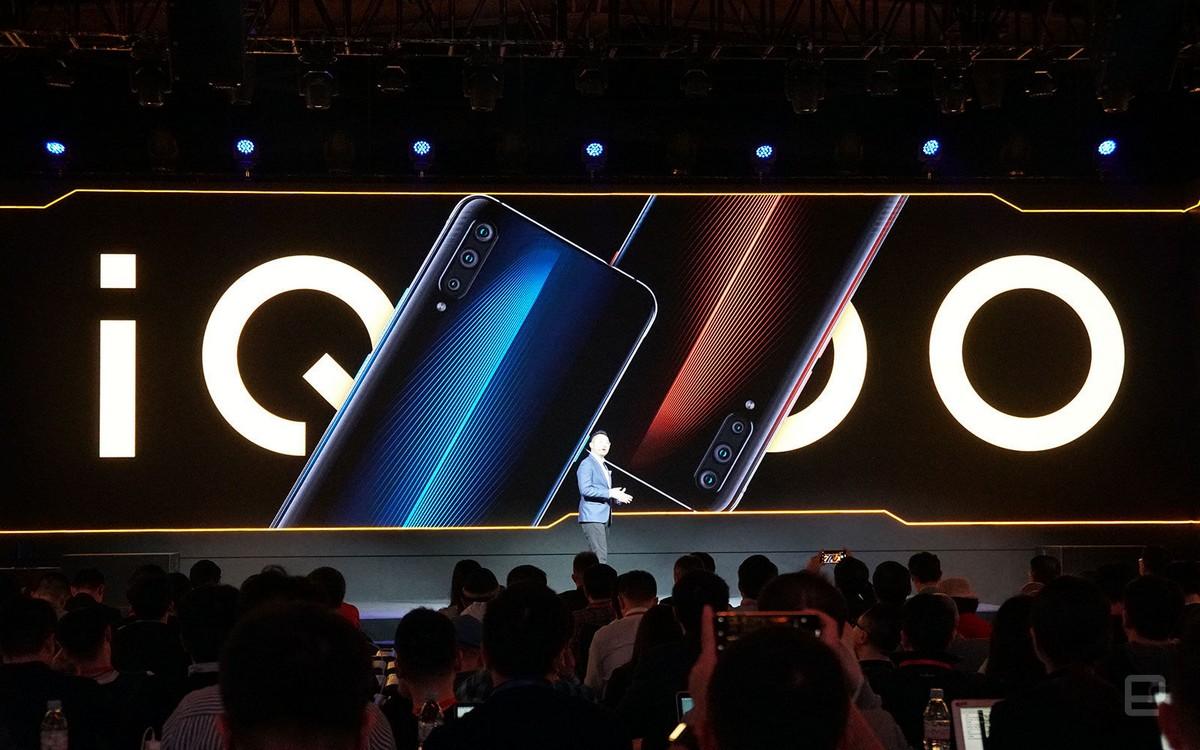 Vivo trình làng smartphone dành cho game thủ iQOO với Snapdragon 855, sạc nhanh 44W, RAM 6/12GB, giá từ 10.5 triệu