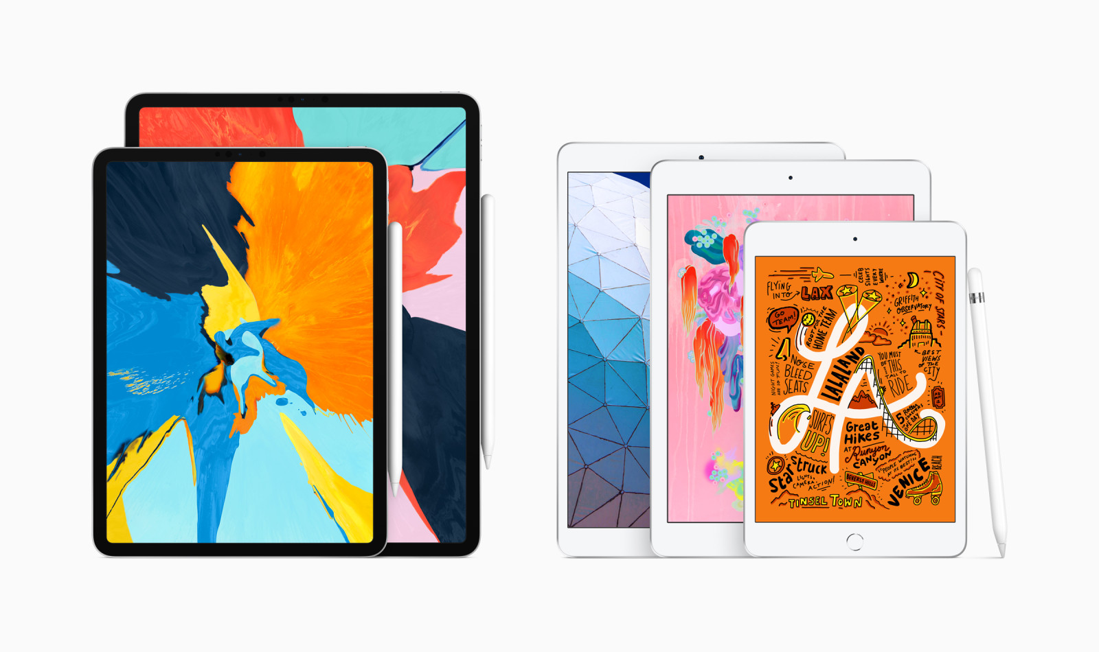 Apple ra mắt iPad mini 5 và iPad Air 10.5 inch : Màn hình True Tone, A12 Bionic, hỗ trợ Apple Pencil, giá 399/499 USD