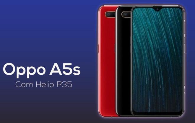 OPPO A5s chính thức trình làng: Phiên bản nâng cấp hiệu năng của A5 với chip Helio P35