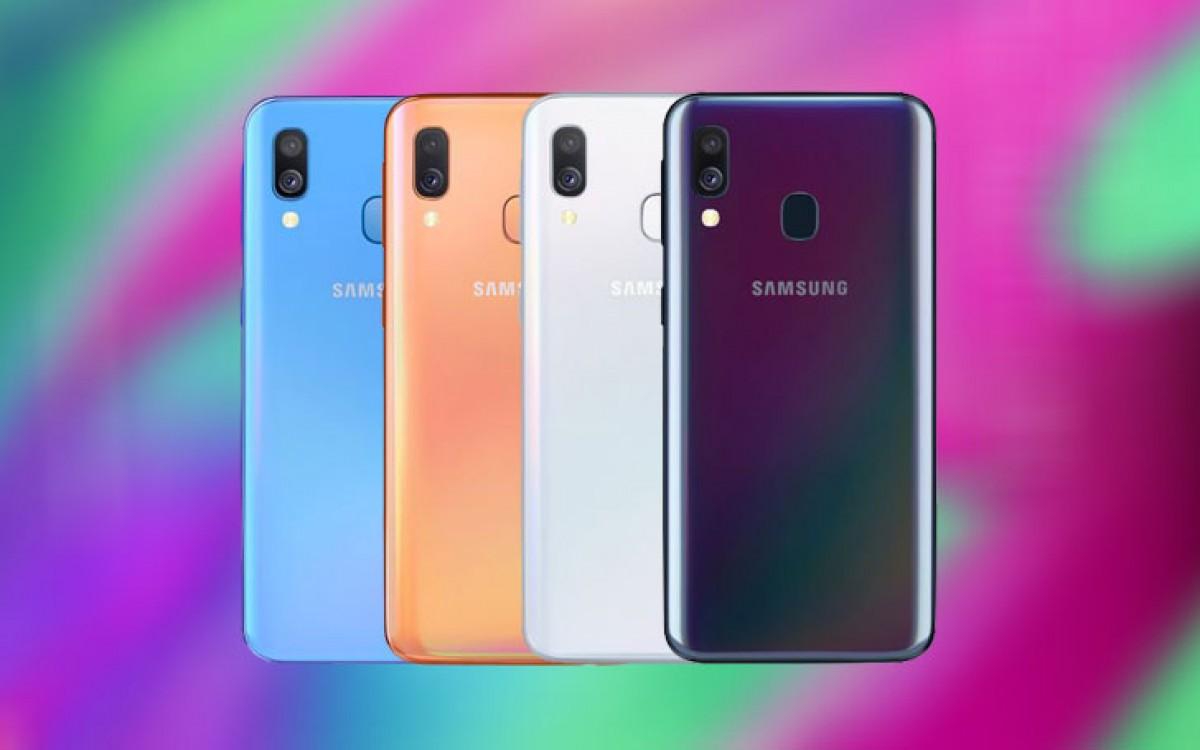 Samsung trình làng Galaxy A40 tại Châu Âu: Exynos 7885, 4GB RAM, camera selfie 25MP, giá 6.5 triệu VNĐ