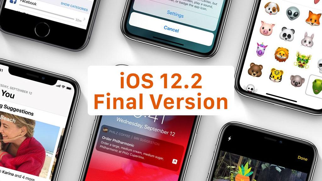 Apple chính thức phát hành iOS 12.2 tiếp tục sửa lỗi và cải tiến, đồng thời bổ sung Animoji mới