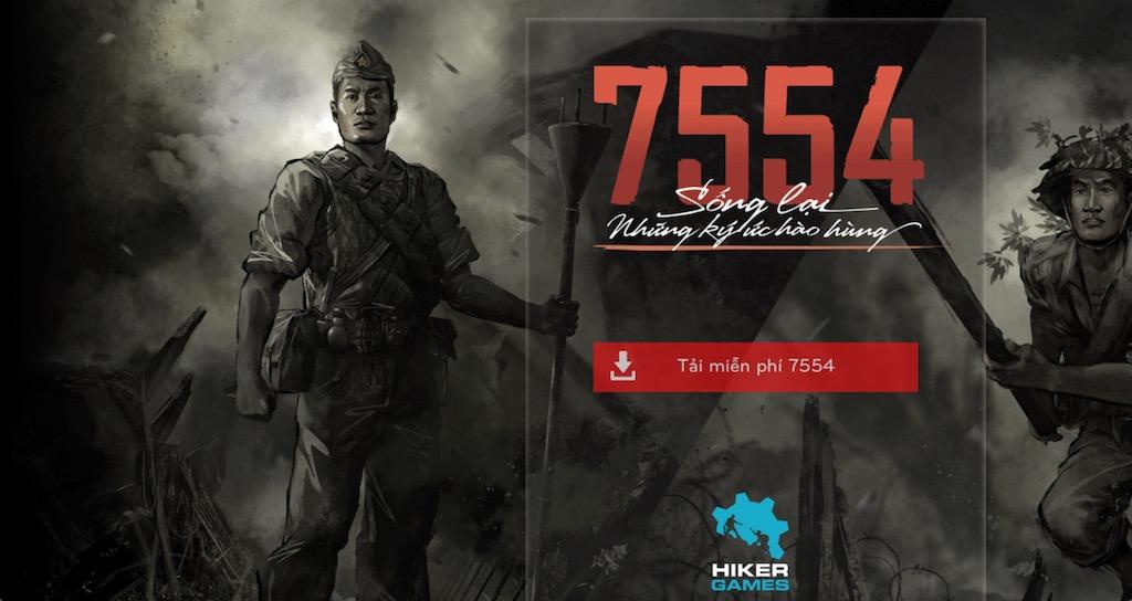 Tải ngay 7554: Tựa game kỷ niệm đại thắng Điện Biên Phủ đang được miễn phí