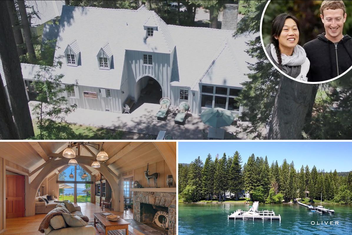Khám phá căn nhà bên hồ Lake Tahoe trị giá 22 triệu đô của CEO Facebook - Mark Zuckerberg